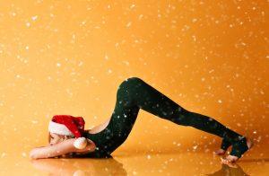 Online Yoga an Weihnachten